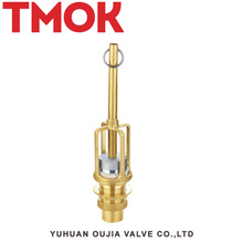 DN40 brass nickle plating gas valve